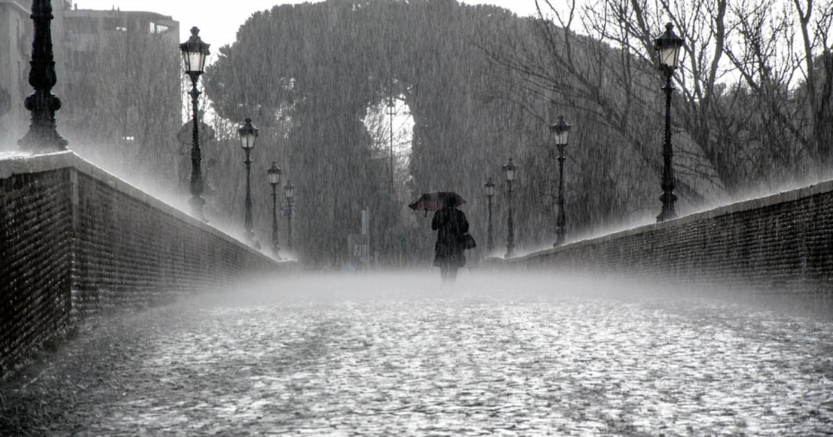 ゲリラ豪雨で怖いのはカミナリよ...