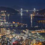 稲佐山の夜景がキレイに見える条件と時間帯は?
